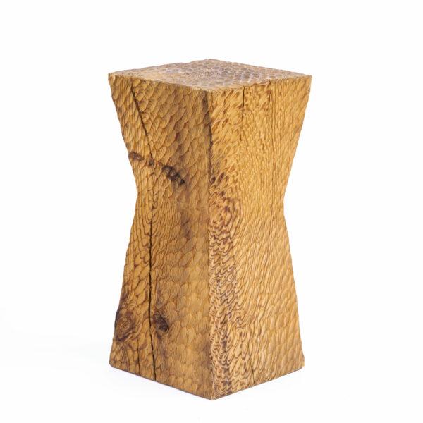 Tabouret à l'arrachée en bois de douglas - édition de mobilier