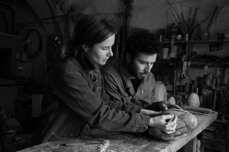 Kilian et Morgane Brisepierre - Travail sur un Œuf joyau